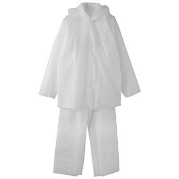 Welder Raincoat Set Free-cut Clear