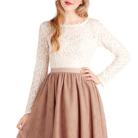 Turning in Tulle Skirt in Dusty Rose | Mod Retro Vintage Skirts | ModCloth.com