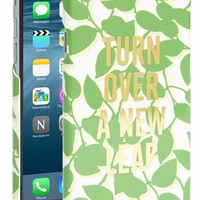 Women's kate spade new york 'turn over a new leaf' iPhone 6 case