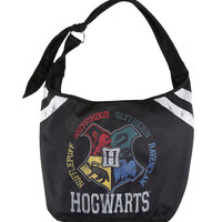 Harry Potter Hogwarts Varsity Hobo Bag