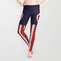 "Captain ""Steve Rogers"" America Leggings by Some_Designs"
