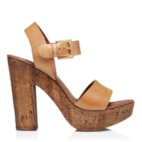 Christina Leather Heel - Forever New