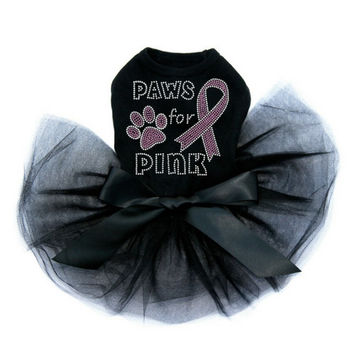 Paws for Pink Tutu Dress