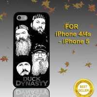 Duck Dynasty black - Photo on Hard Cover - For iPhone Case ( Select An Option )