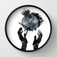 Howl Wall Clock by M. Vander