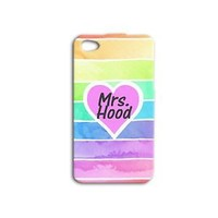 Mrs Boy Band Cute Pastel Wife Gf Band Phone Case iPhone Custom Ombre Girl Girly