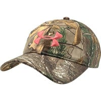 UNDER ARMOUR Women's Camo Adjustable Cap