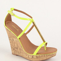 Qupid Glory Wedge Sandals at PacSun.com