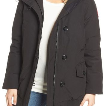Canada Goose Finnegan 625-Fill Power Down Parka with Genuine Shearling Hood Lining | Nordstrom