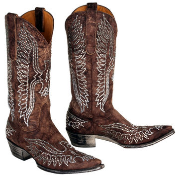 Old Gringo Women's Crystal Eagle Boot