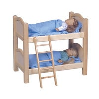 Doll Bunk Bed Natural
