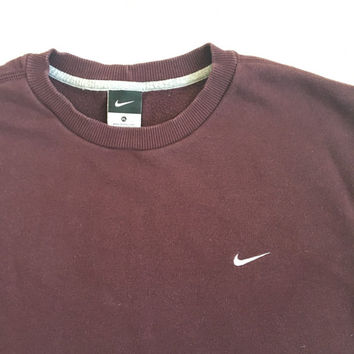 Vintage 90s Nike Ox Blood Sweater
