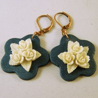 Cameo Earrings -