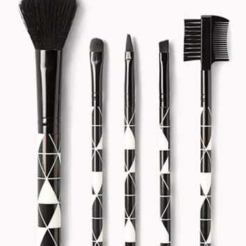 Geo Cosmetic Brush Set