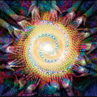 Coming Together -  Visionary Art / Ayahuasca / Psychedelic / Digital Painting.~ Poster Print from original artwork by Shmueli Bell
