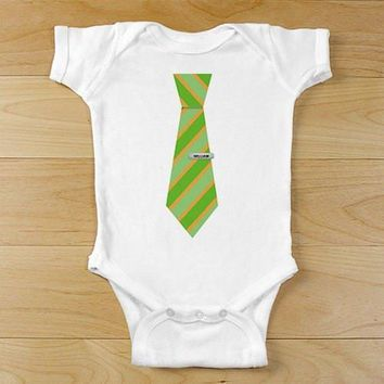 Personalized Baby Tie Onesuits & Infant T-Shirts