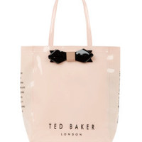 TINICON - Small bow shopper bag - Light Pink | Womens | Ted Baker UK
