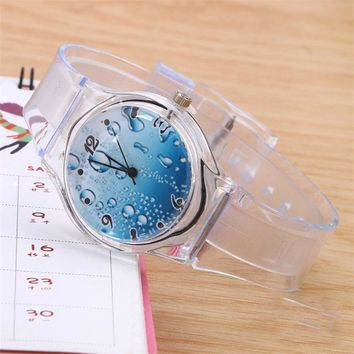 Clock Silicon Watch Women Sport Casual Quartz Wristwatches
