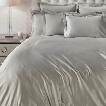 Solange Bedding - Fog Grey | Jen Cadence Bedroom Inspiration | Bedroom | Inspiration | Z Gallerie