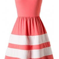 Sweetheart Colorblock Dress