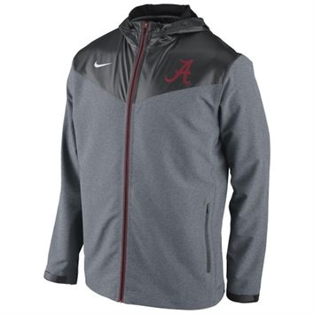 Alabama Crimson Tide Nike Sweatless Performance Jacket – Charcoal