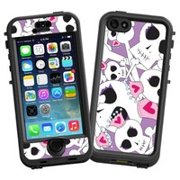 """Skull Princess """"Protective Decal Skin"""" for LifeProof nuud iPhone 5s Case"""