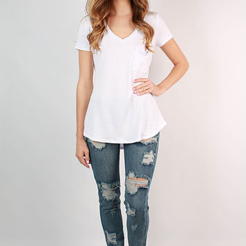 Back Road Distressed Boyfriend Jean