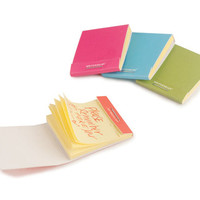 Kikkerland Design Inc » Products » Sticky Notes Matchbook