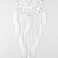 Large White Dream Catcher, Crochet Doily Dreamcatcher, Wedding Dreamcatcher, wedding decor, boho dreamcatchers, wall hanging, wall decor