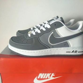 """Nike Air Force 1"" Unisex Sport Casual Multicolor Low Help Shoes Sneakers Couple Plate"