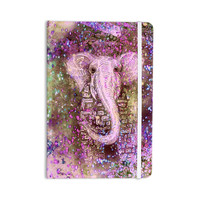 "Marianna Tankelevich ""Pink Dust Magic"" Elephant Sparkle Everything Notebook"