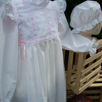 Girls Victorian Samantha Nightgown Special Order Only
