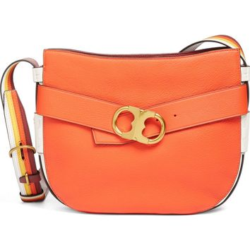 Tory Burch Gemini Belted Small Leather Hobo | Nordstrom