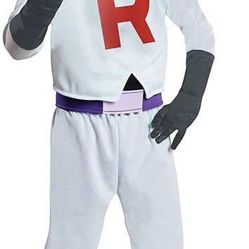 Team Rocket James Pokemon Boys Costume