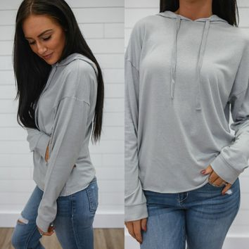 SEE YOU THERE SWEATSHIRT - DOVE GREY