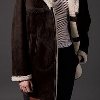 Sueded Sheepskin Jacket