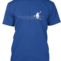 Men's Kayaking Line Art T-Shirt