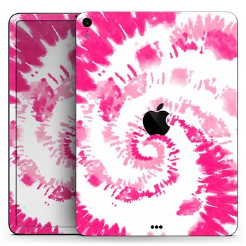 """Spiral Tie Dye V6 - Full Body Skin Decal for the Apple iPad Pro 12.9"""", 11"""", 10.5"""", 9.7"""", Air or Mini (All Models Available)"""