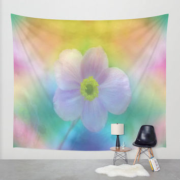 Wall Tapestry - 'Colorful Dreams' - Home Decor - Wall Decor, Modern, Home Warming Gift, Symmetry, Bohemian, Boho, Floral