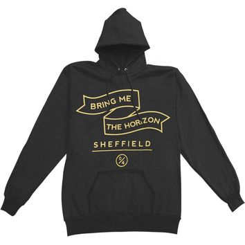 Bring Me The Horizon Men's  Banner Hooded Sweatshirt Black