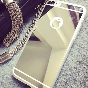Cosmetic Mirror iPhone 5s 6 6s Plus Case Cover Gift