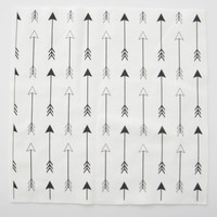 Arrows Black and White Vertical - sierra_gallagher - Spoonflower
