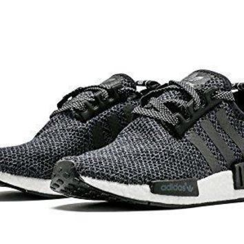 NEW Adidas NMD R1 Champ Exclusive Black Reflective 3M WOOL RARE BA7842 womens adidas