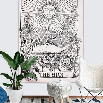 """The Sun Tapestry Wall Hanging (59""""×59"""")"""