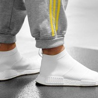 MDIGGE2 Beauty Ticks Women Adidas Nmd Boots Casual Nmd Sports Shoes Black White