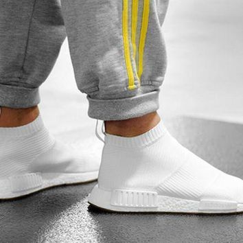 CREYGE2 Beauty Ticks Women Adidas Nmd Boots Casual Nmd Sports Shoes Black White