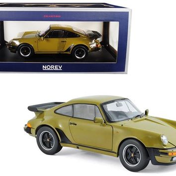 1977 Porsche 911 Turbo 33 Olive Green 1:18 Diecast Model Car by Norev