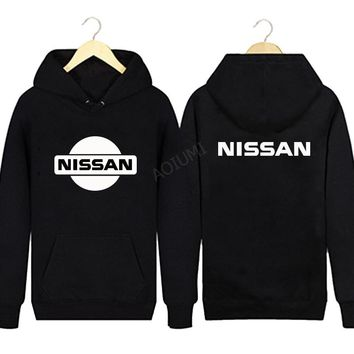 2018 Hoodies nissan sweatshirt Men Fashion Tracksuit Mens coats letter solid colours Hoodie jackets