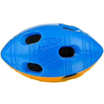 Nerf Dog Crunch and Squeak Bash Football | Petco