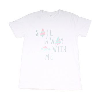Sail Away With Me Tee by Lauren James - FINAL SALE